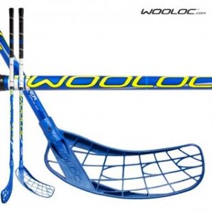 Florbalová hůl Wooloc modrá vel. 96cm