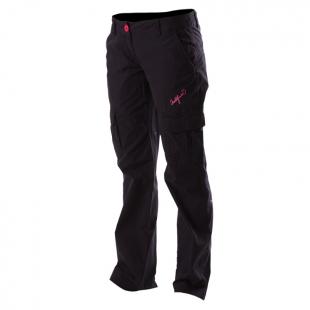 Plátěné kalhoty Northfinder dámské černé