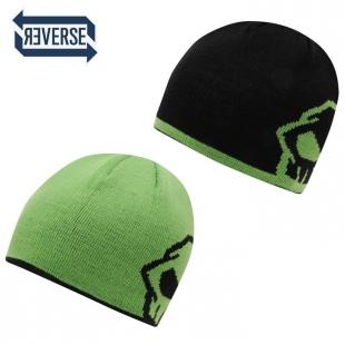 Pánská zimní čepice No Fear zeleno-černá