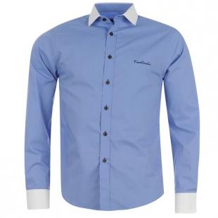 Pánská košile Pierre Cardine modrá