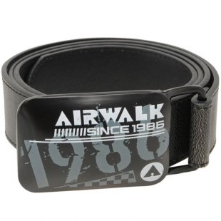 Opasek Airwalk černý