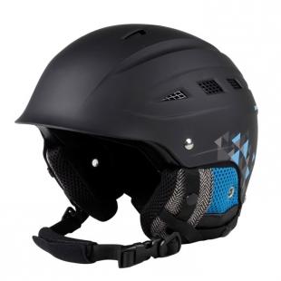 Dětská lyžařská helma No Fear, černá