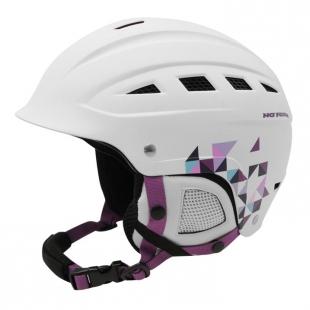 Dámská lyžařská helma No Fear, bílá