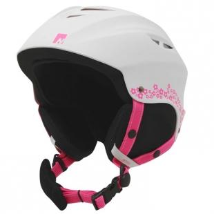 Dětská lyžařská helma Nevica, bílá