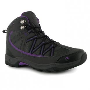 Dámské boty Ottawa Mid Gelert, tm. šedé/fialová