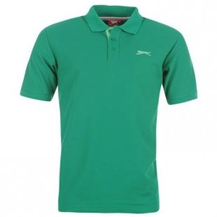 Pánské polo triko Slazenger, zelené