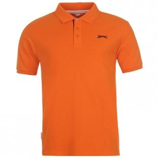 Pánské polo triko Slazenger, oranžové