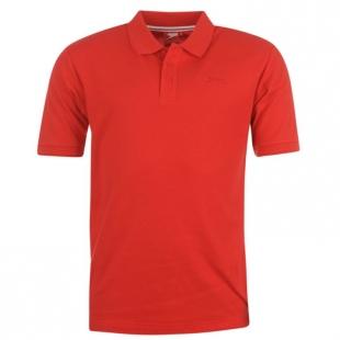 Pánské polo triko Slazenger, červené