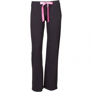 Dámské volnočasové kalhoty Bench, černo-růžové