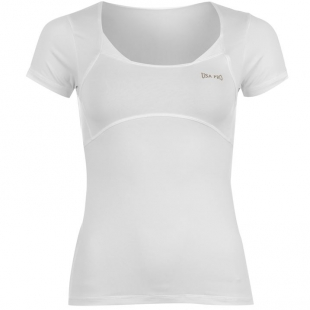 USA Pro triko dámské bílé vel.  8, 10, 12, 14, 16, 18 cena 330,-