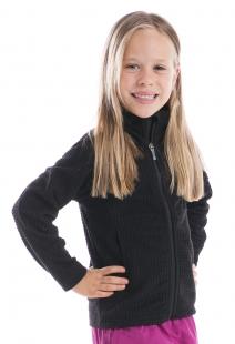 Alpine pro dětská mikina černá