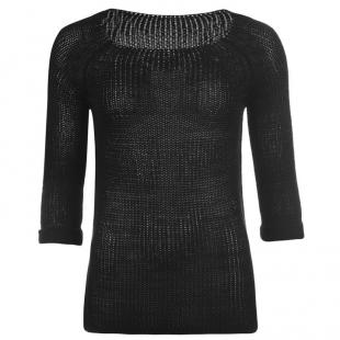 Miss Fiori Dámský svetr, černý