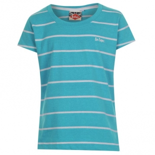 Divčí triko Lee Cooper, modrá