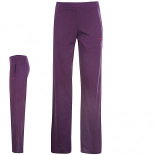 LA Gear dámské volnočasové kalhoty fialové