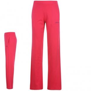 LA Gear dámské volnočasové kalhoty růžové