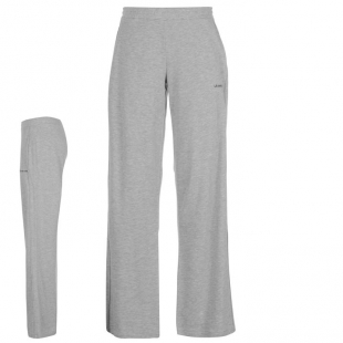 LA Gear dámské volnočasové kalhoty světle šedé