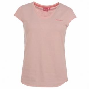 LA Gear triko, světle růžová