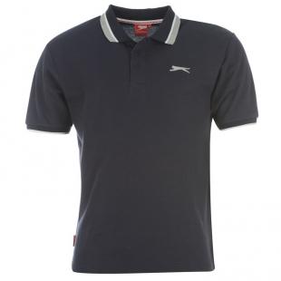 Slazenger Tipped pánské tričko, černé