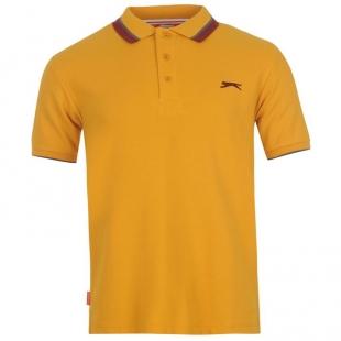 Slazenger Tipped pánské tričko,  žluté