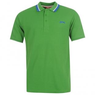 Slazenger Tipped pánské tričko, zelené
