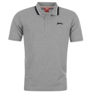 Slazenger Tipped pánské tričko, šedé