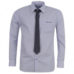 Pierre Cardin Košile  Pánský set, tm. modrý s kravatou