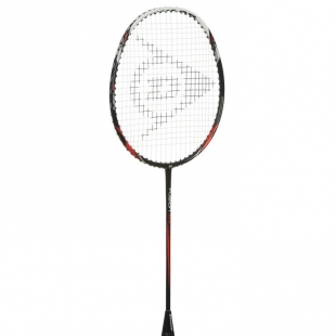 Dunlop Fusion 85 Badminton Raketa, černo červeno bílá