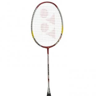 Yonex Muscle Power 5 Badminton Raketa, červeno stříbrná