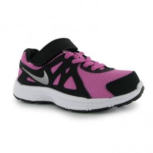 Nike dětská běžecká obuv, černo fialová
