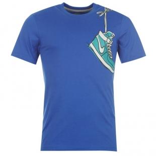 Nike triko dětské, sv. modré