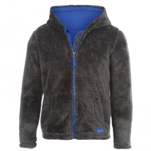 Gelert Yukon dětská mikina, tm. šedo modrá