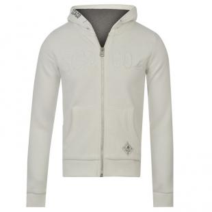 Dívčí mikina SouCal bílá na zip