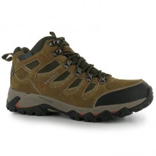 Karrimor pánské trekové boty hnědé