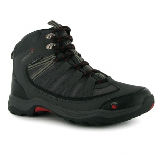 Pánská turistická obuv Gelard černočervené