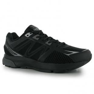 Pánské běžecké boty Karrimor černo-stříbrné cab5dfe42e
