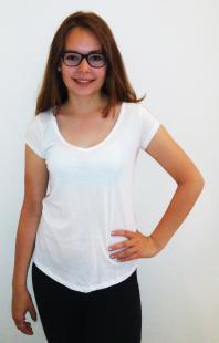 Dámské triko Terranova, bílé