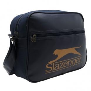 Taška přes rameno Slazenger, tm. modrá