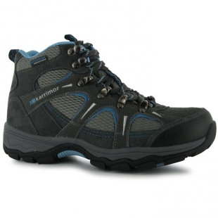 Zimní boty unisex Karrimor, šedomodré