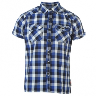 Chlapecká košile Lee Cooper, modrá