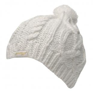 Dámská zimní čepice Golddigga, bílá