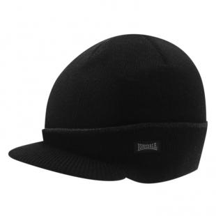 Pánská zimní čepice Lonsdale Peak Hat, černá