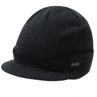 Pánská zimní čepice Lonsdale Peak Hat, šedá