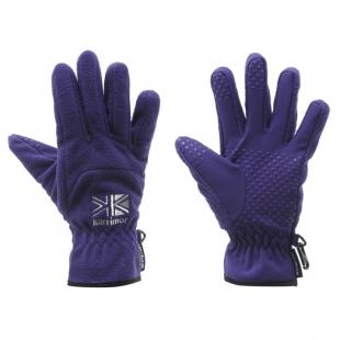 Dámské rukavice Karrimor Windproof, fialové