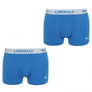 Pánské boxerky Lonsdale 2 Pack Trunk d32a3a7ec8