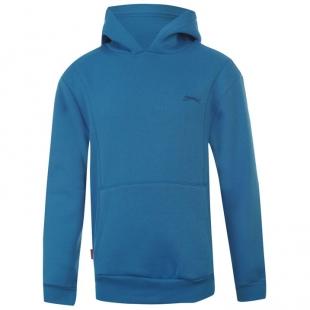 Dětská mikina Slazenger Fleece Hoody, modrá