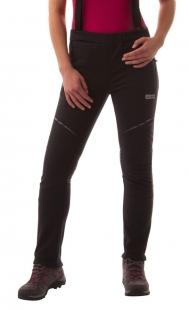 Dámské softshellové kalhoty NORDBLANC nordic/cycling, černé