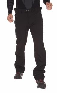 Pánské softshellové kalhoty NORDBLANC, černé