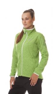Dámský outdoorový svetr NORDBLANC WINDWALL, zelený