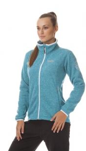 Dámský outdoorový svetr NORDBLANC WINDWALL, modrý