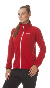 Dámský outdoorový svetr NORDBLANC WINDWALL, červený